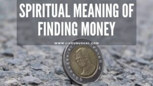 spiritual meaning of finding money
