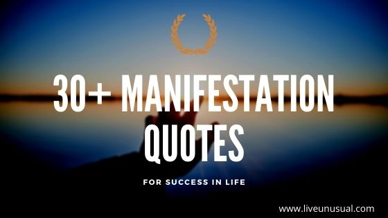 Manifestation quotes