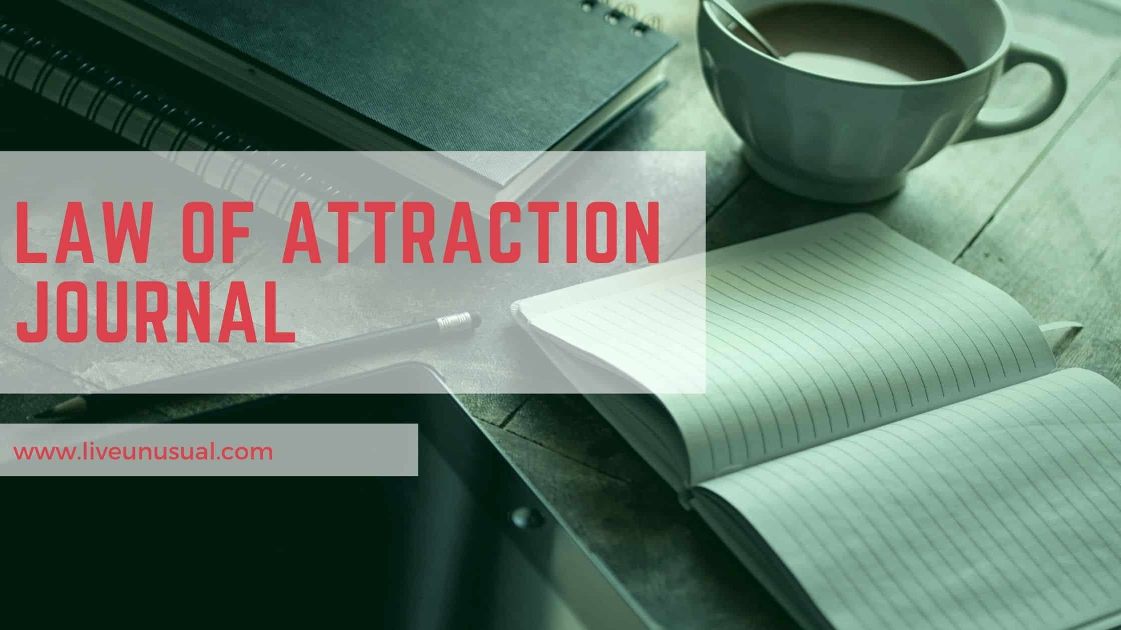 the law of attraction journal