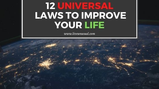 12 universal laws to improve your life