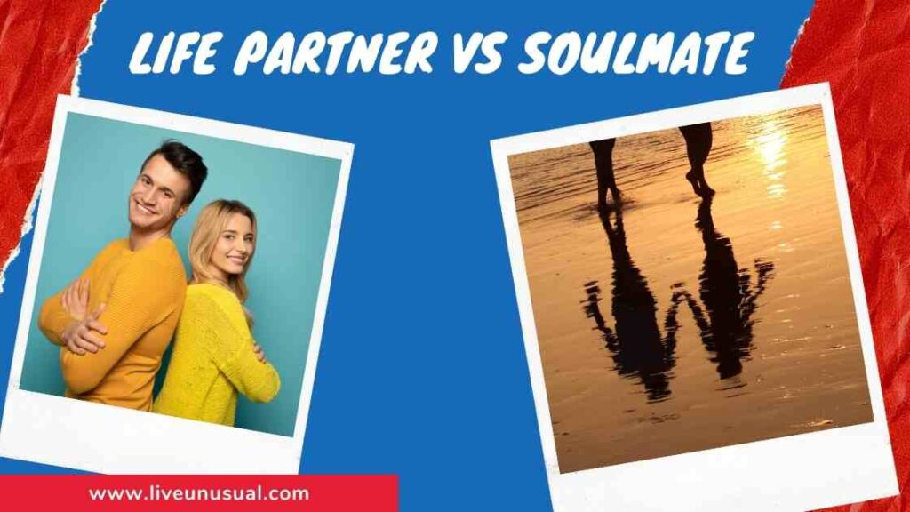 Life partner vs Soulmate