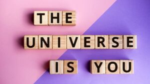 Perceive the universe is in you