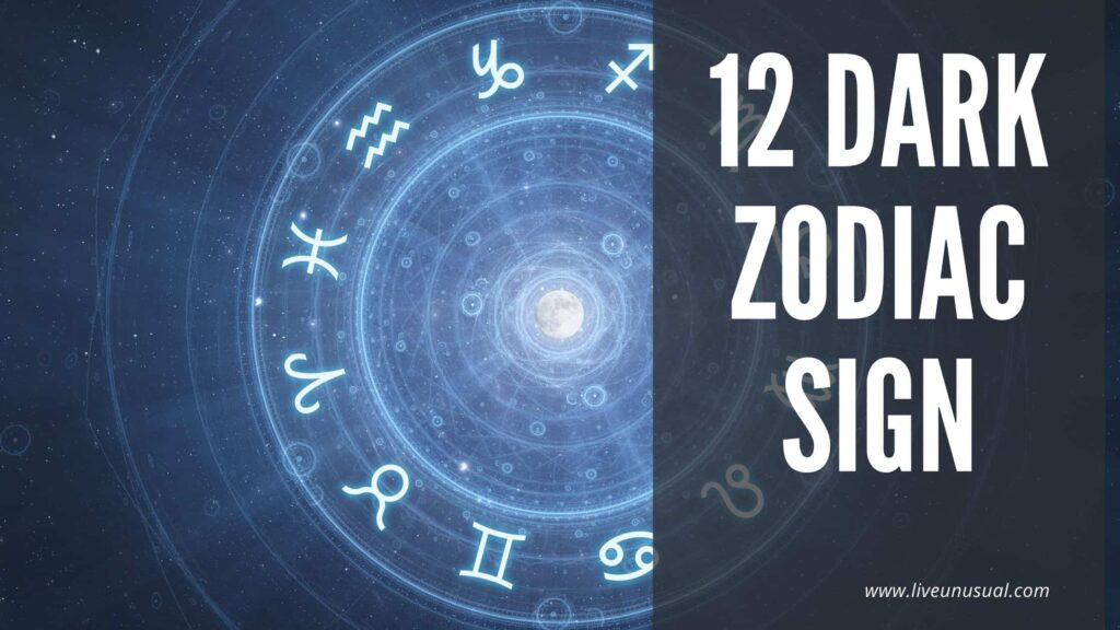12 Dark zodiac Sign