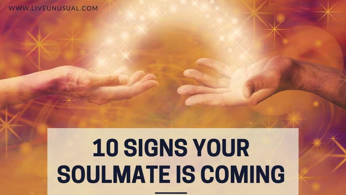 He signs my that soulmate is 11 Proven